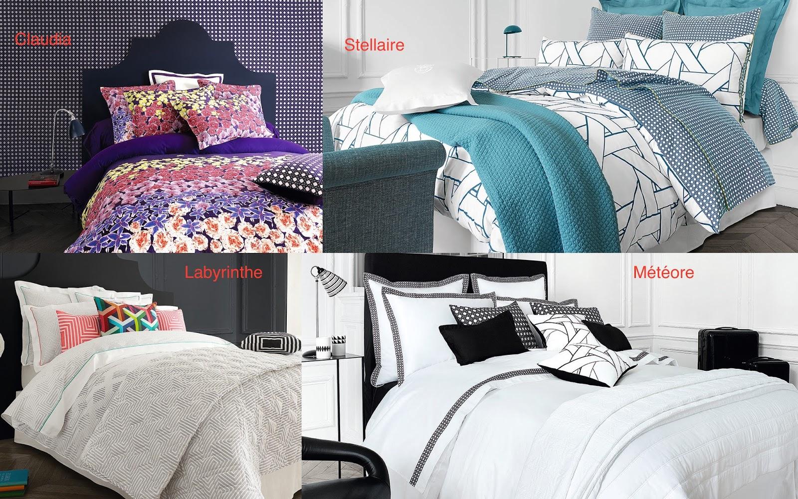 mich le in wonderland les douces parures de descamps et jalla. Black Bedroom Furniture Sets. Home Design Ideas