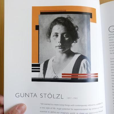 Gunta Stölzl as seen in Bauhaus Women by Ulrike Müller