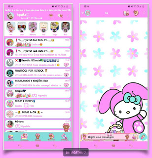 Melody Theme For YOWhatsApp & KM WhatsApp By Agatha