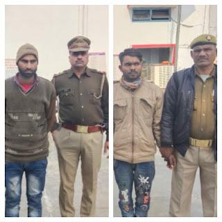 अवैध स्मैक सहित दो हिस्ट्रीशीटर चढ़े बाराबंकी पुलिस के हत्थे