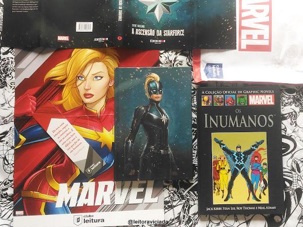 Clube Leitura Marvel #04, assinatura exclusiva dos livros Marvel!