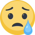 Crying Facebook Emoticon