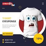 T-Shirt : Line Art Spongeboob Pree Order