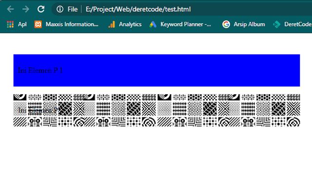 Mengatur gaya atau style pada elemen html