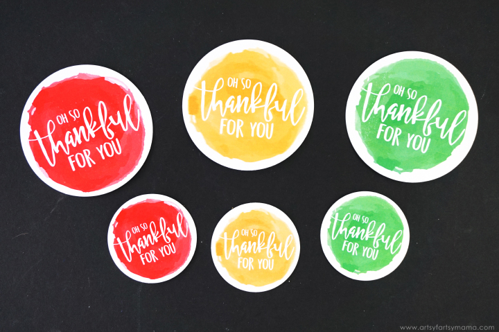 """Thankful"" Thanksgiving Favors"