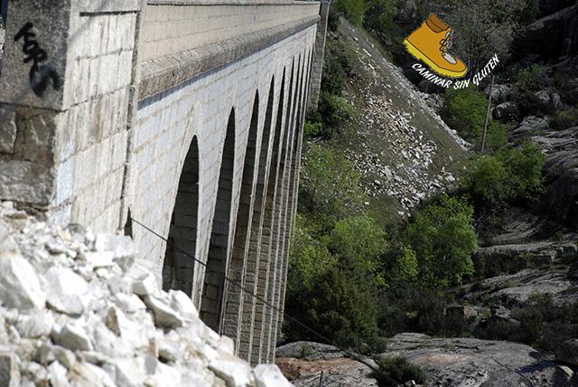 Viaducto Ferrocarril Madrid-Burgos en Bustarviejo