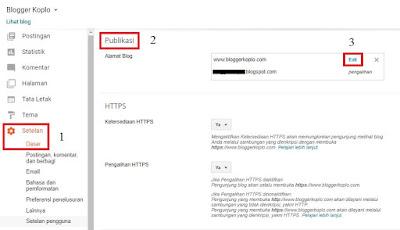 Cara Agar Custom Domain Blogspot Bisa Diakses Dengan atau Tanpa WWW