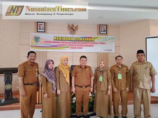 DPPKBP3A Kabupaten Batanghari Adakan Pelatihan Pengurusutamaan Gender melalui PPRG