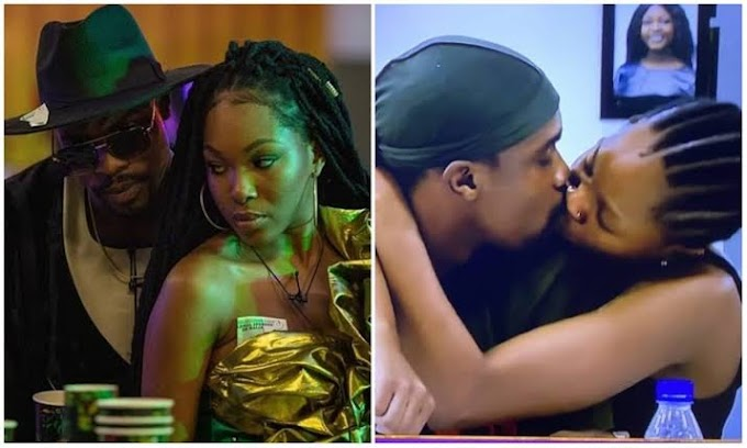 BBNaija: 'Warri Boy Finally Carry Last'- Nigerians React To Video Of Neo Washing Vee's Pants (Watch Video)