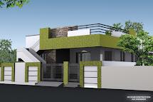 Single Floor House Elevation Design Images