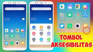 Cara Memunculkan Tombol Aksesibilitas Di Navbar Xiaomi MIUI 11