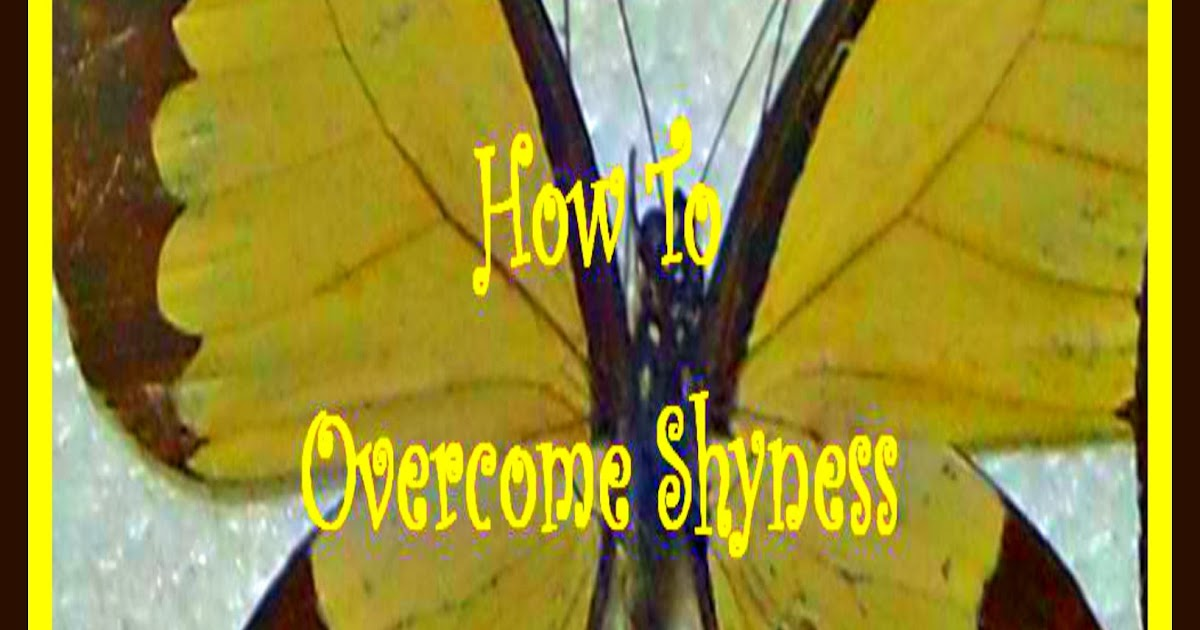 Christian Stress Management How To Overcome Shyness