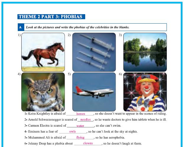 9. Sınıf Yıldırım Yayınları İngilizce A1.2 Çalışma Kitabı 21. Sayfa Cevapları Theme 2 Personality and Character
