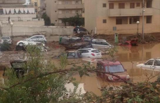 مصرع 10 أشخاص في فيضان جزيرة مايوركا.