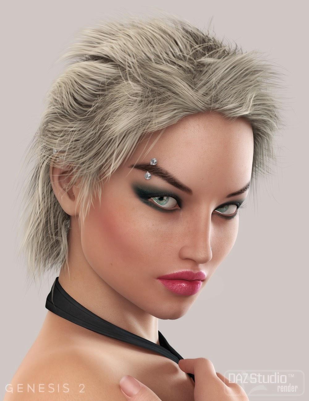 Daz genesis 2 hair
