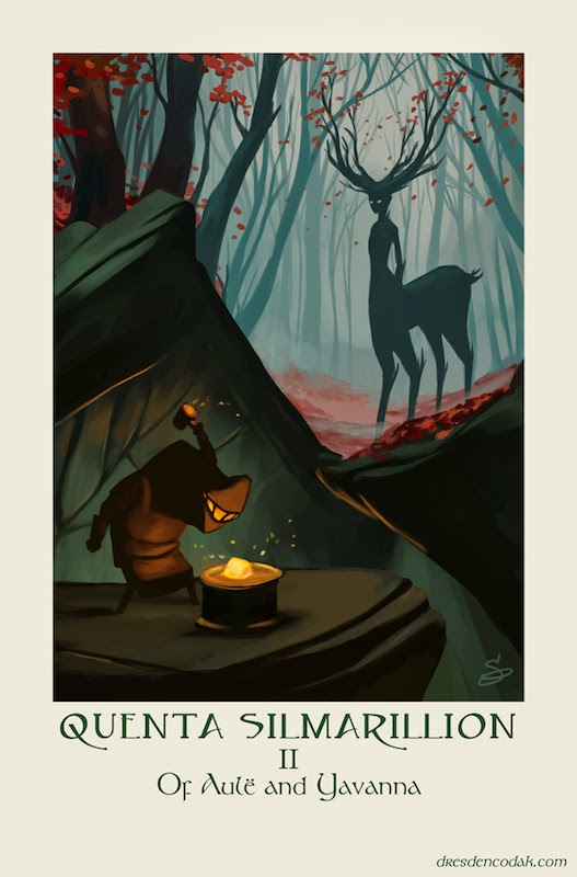 The Silmarillion Project by Aaron Diaz
