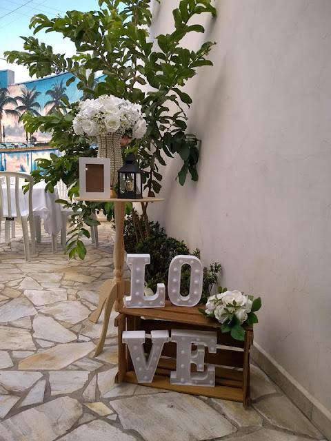 DIY - Faça você mesma sua decoração de casamento.