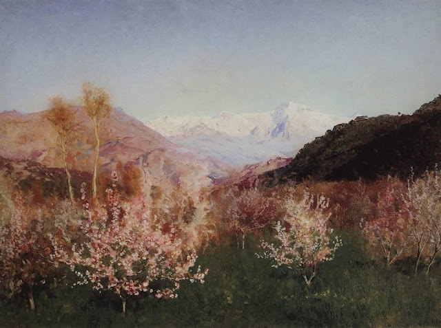 Исаак Ильич Левитан - Весна в Италии (1). 1890
