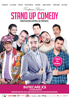 Stand-Up Comedy Joi, 27 Octombrie Bucuresti