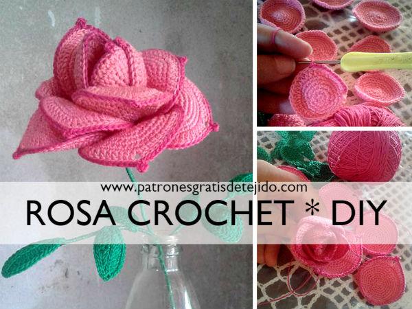 como-tejer-rosa-crochet-con-petalos