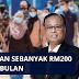 Mohon Bantuan Sebanyak RM200 Sebulan