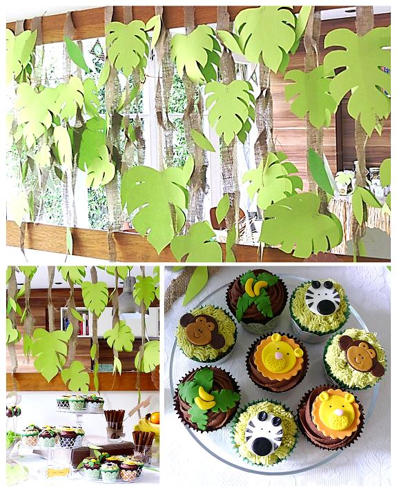 Jungle Theme Cake Pops