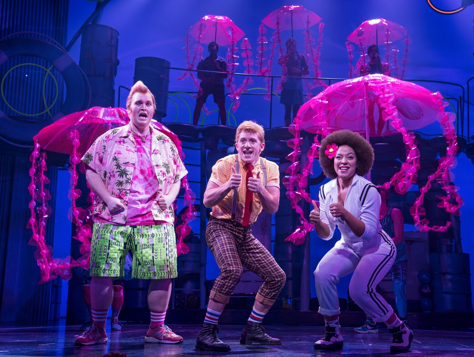 Nickalive with a singing spongebob nickelodeon aims for for The broadway