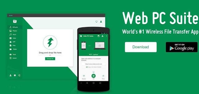 Download Web PC Suite | APK Free Download For Windows