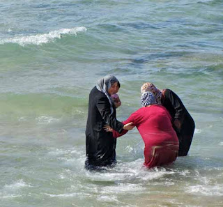 Muslim Women Swim Tel Aviv Israel