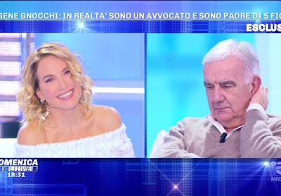 gene Gnocchi domenica Live 15 novembre
