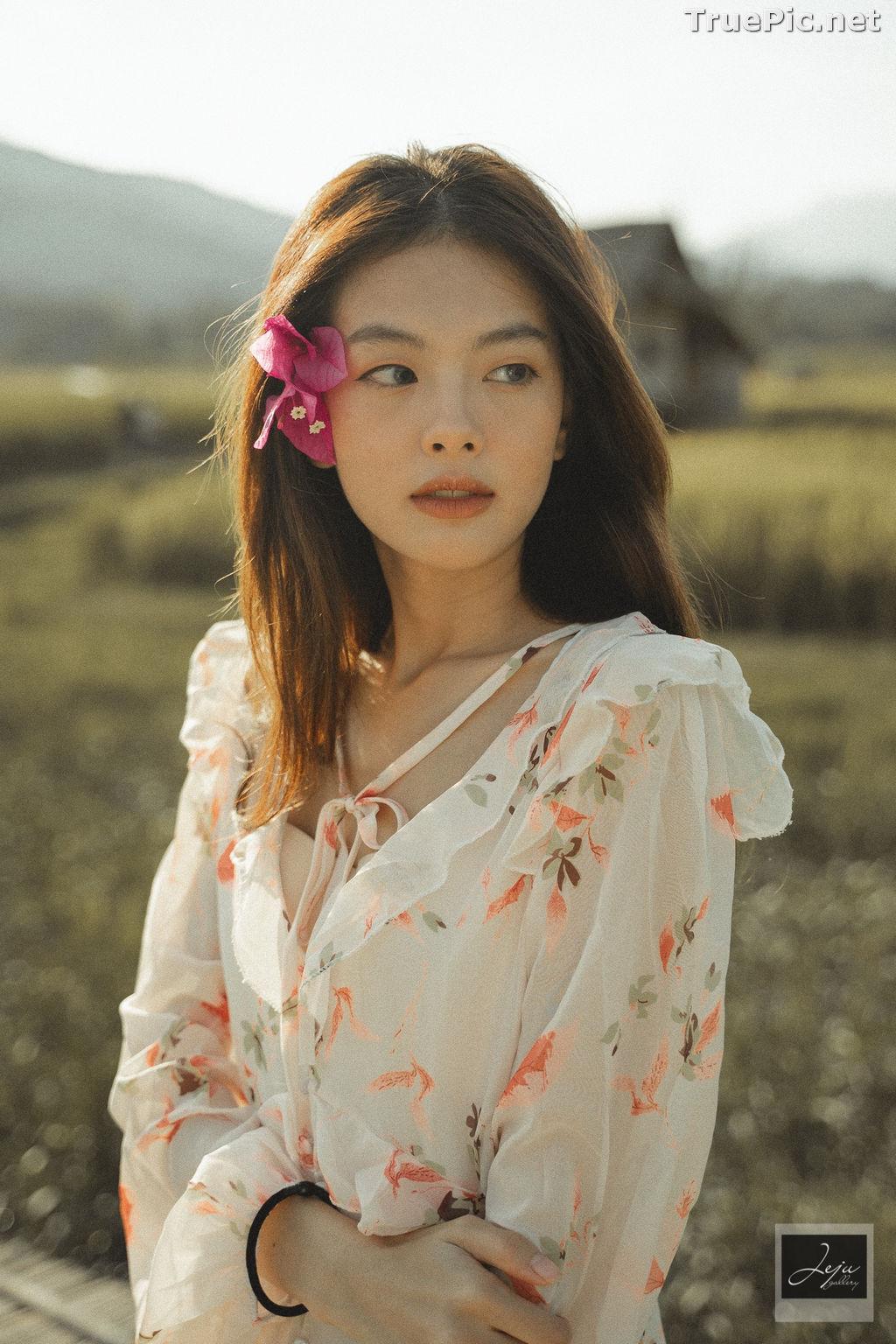 Image Thailand Hot Model - Nut Theerarat - Nutwch Black Pink - TruePic.net - Picture-7
