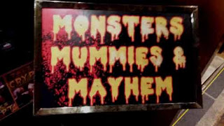 Monsters Mummies & Mayhem AT Hollywood Museum