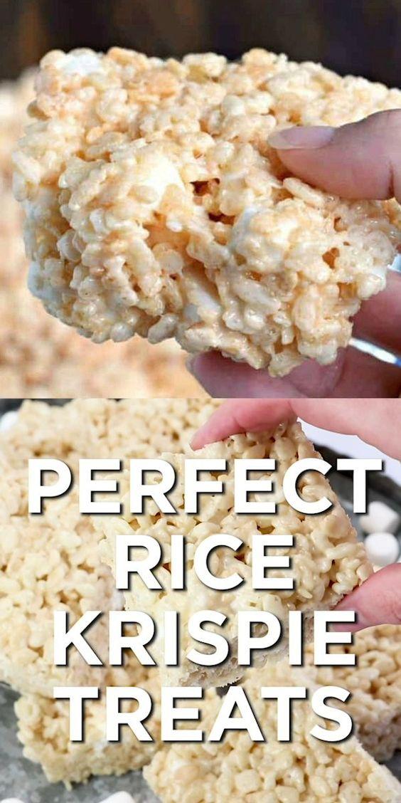 Perfect Rice Krispie Treats Recipe