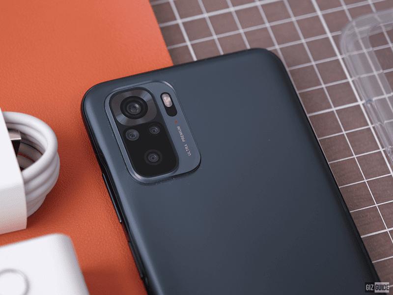 Redmi Note 10's camera
