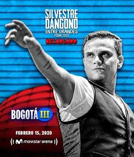 Concierto de SILVESTRE DANGOND en Bogotá