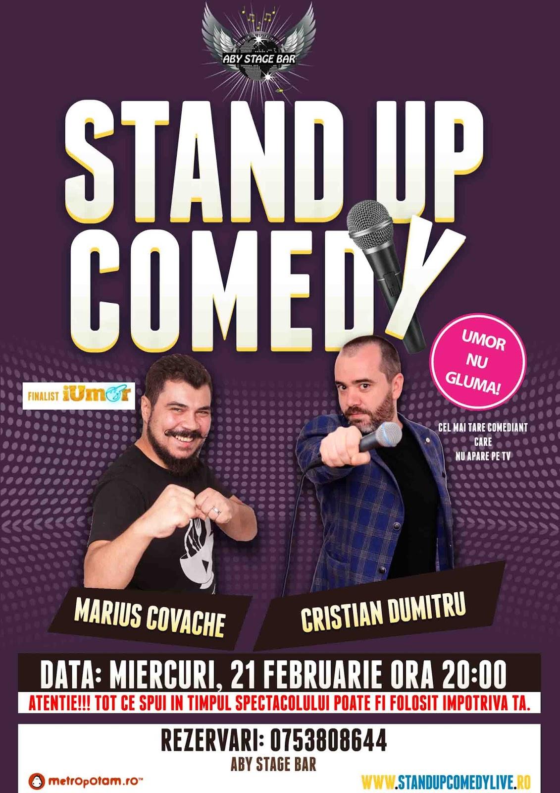 Stand-Up Comedy Valcea Miercuri 21 Februarie 2018