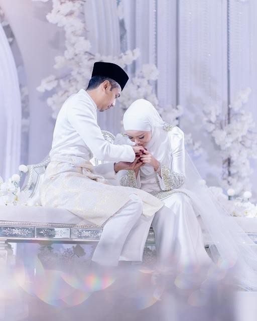 Gambar Nikah Mirah Filzah dengan Wan Emir Astar