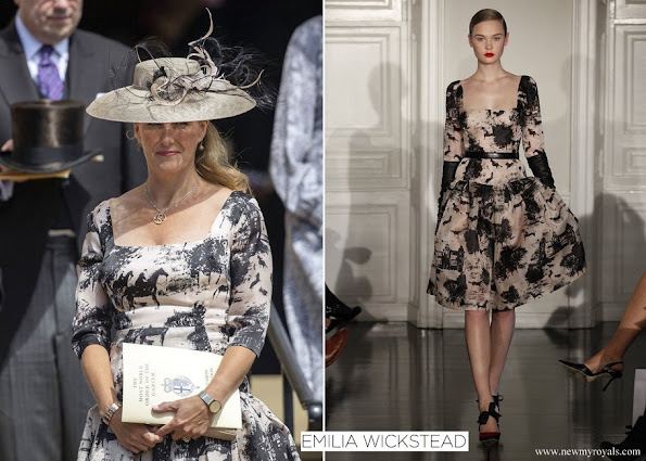 Countess Sophie wore Emilia Wickstead AutumnWinter 2012 Ready-To-Wear Collection
