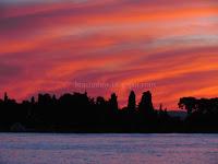 zalazak sunca Supetar slike otok Brač Online