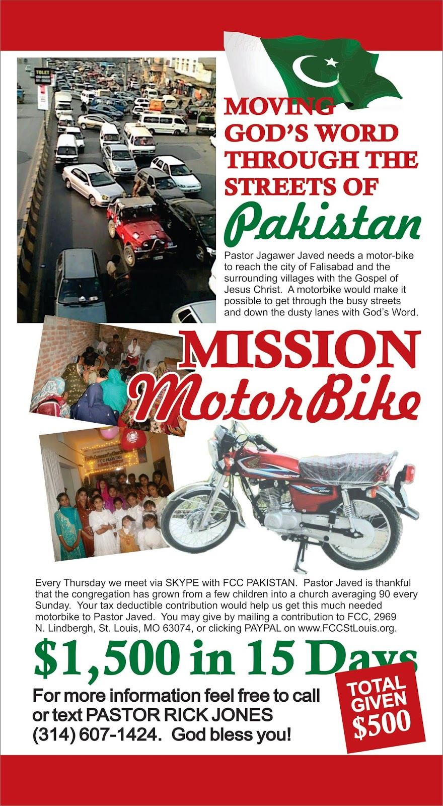 Mission motorbike pakistan reaching forth for Badezimmer 4 x 2 m