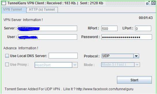 Tunnel Guru VPN with MTN BIS Settings |Elobbi