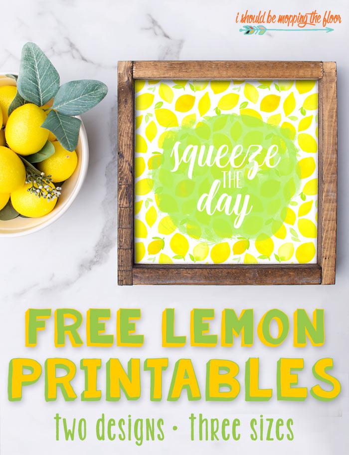 Lemon Printable Designs