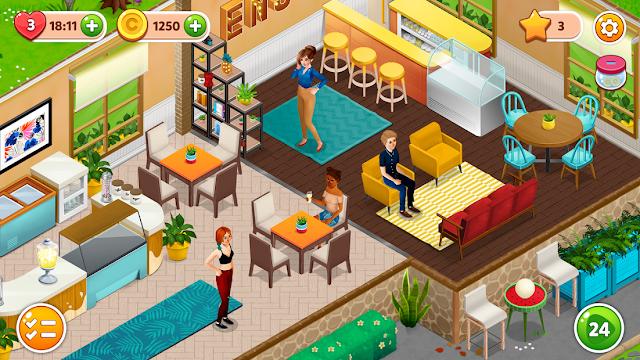 Fancy Cafe Hileli APK - Sınırsız Para Hileli Mod APK v1.7.2
