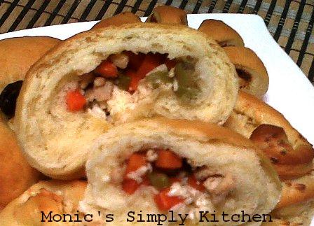 Savoury Bread using water roux