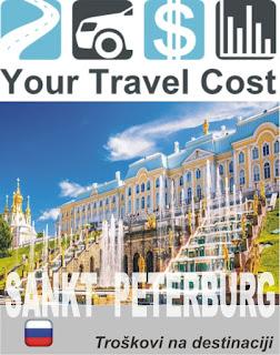 Sankt Peterburg, trošak