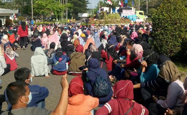 Buruh PT. Glostar Indonesia Gelar Aksi Lagi, Ini Tuntutannya