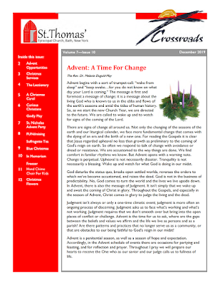 A small image of the newsletter.