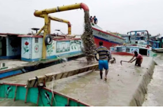 21 sand miners arrested in Pabna