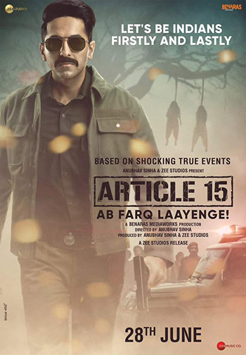 Article 15 2019 ORG Hindi Movie HDRip 1080p 4GB DD5.1Ch ESubs