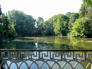 Браїлів. Садиба Надії фон Мекк. Парк. Озеро